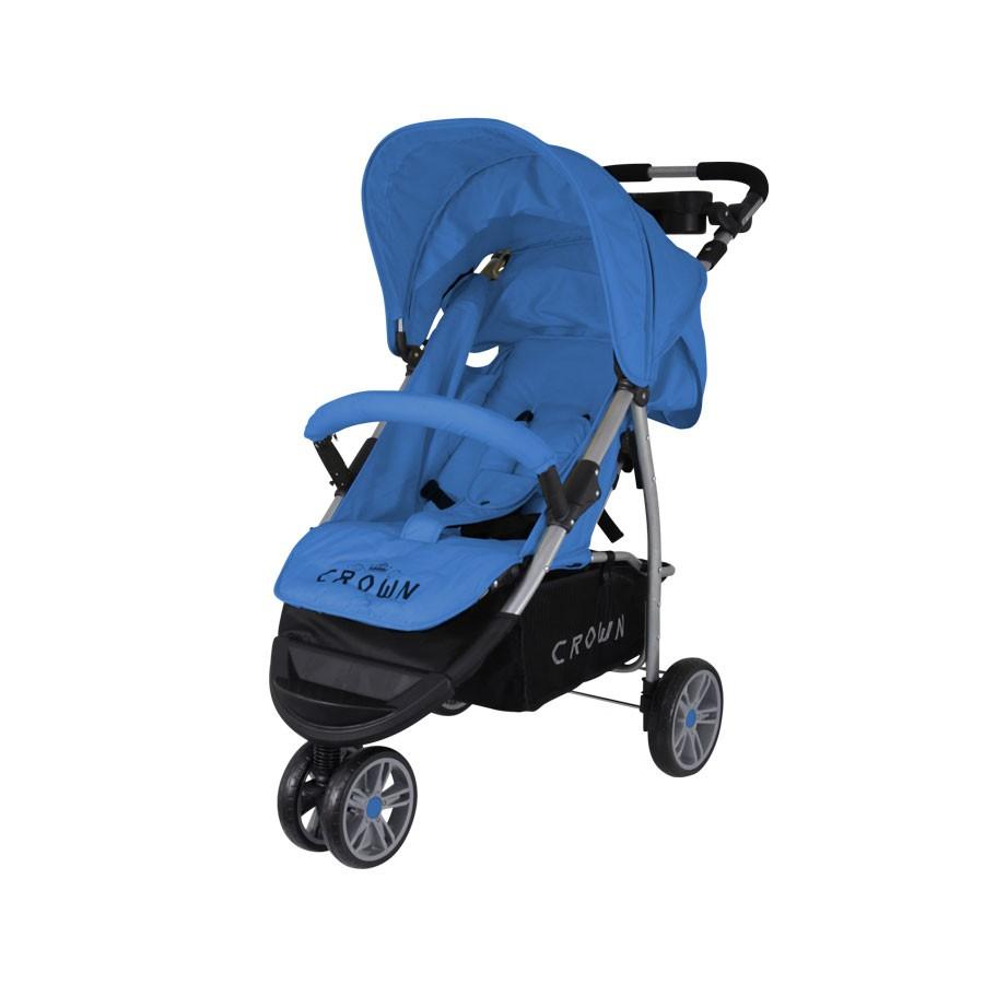 st712 crown kinderwagen buggy sport jogger farbe blau kinderwagen buggy. Black Bedroom Furniture Sets. Home Design Ideas