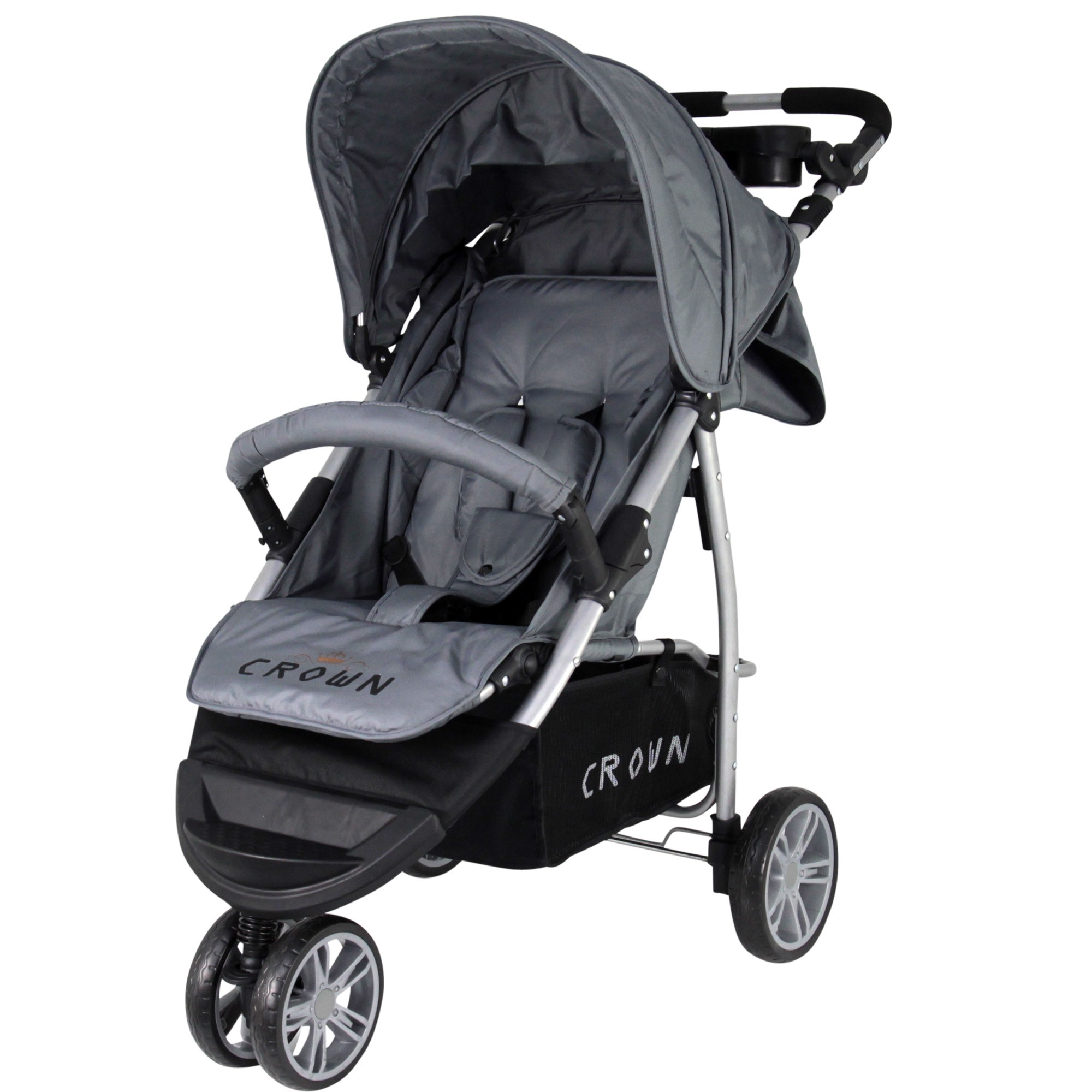 st712 crown kinderwagen buggy sport jogger farbe grey kinderwagen buggy. Black Bedroom Furniture Sets. Home Design Ideas
